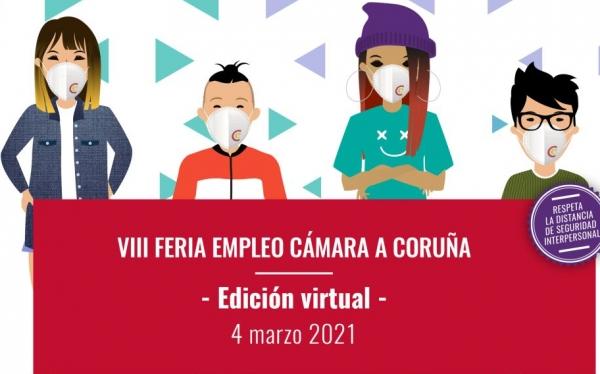 VIII Feira de Emprego da Cámara de Comercio da Coruña