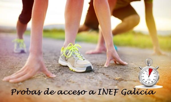 Probas de acceso a INEF Galicia