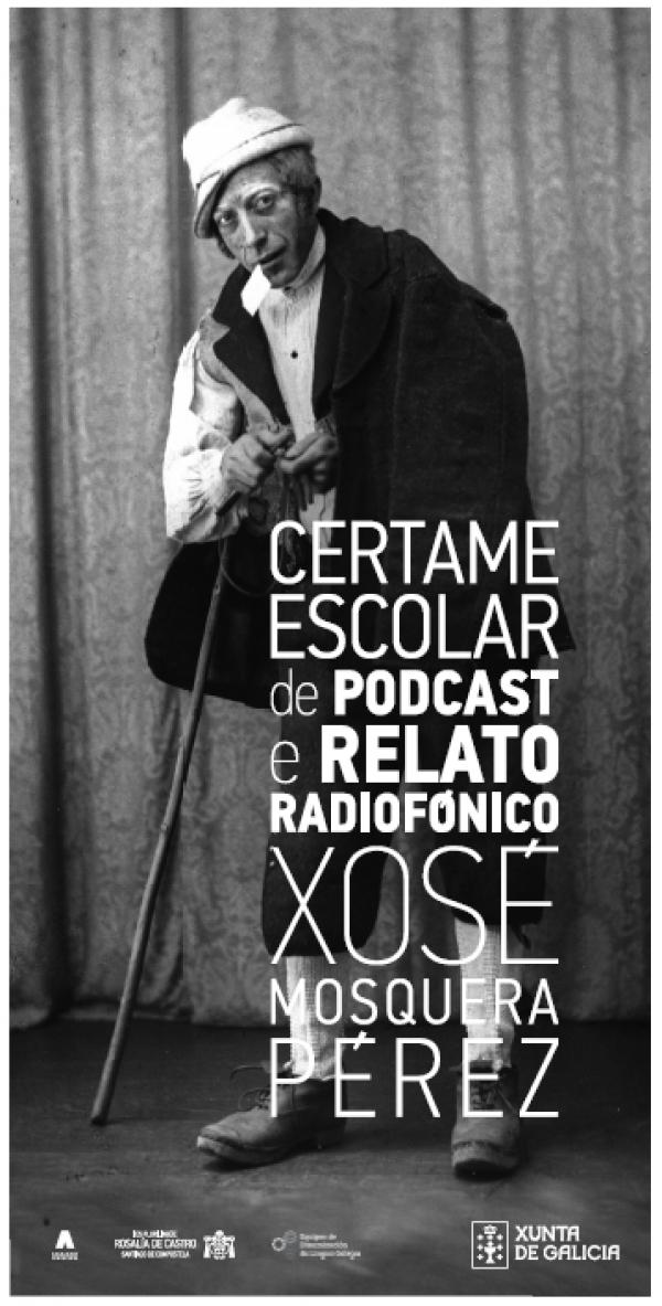 """Podcasts en galego """"Xosé Mosquera Pérez, O vello dos contos"""""""