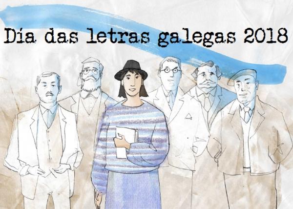 Día das letras galegas 2018, María Victoria Moreno.