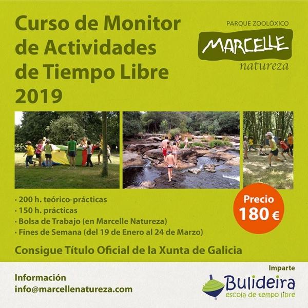 Curso de Monitores/as de actividades de ocio e tempo libre no parque de Marcelle Natureza