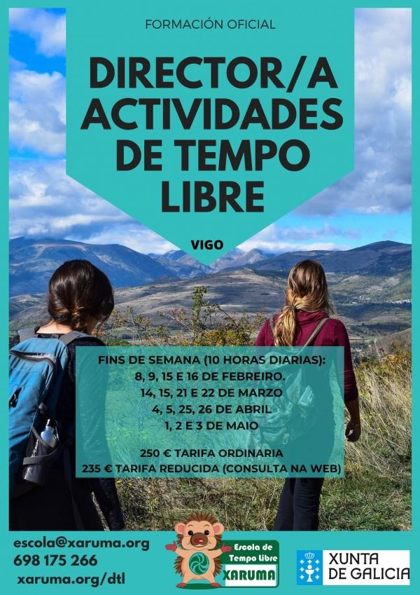 Curso de Director/a de Actividades de Tempo Libre en Teis, Vigo
