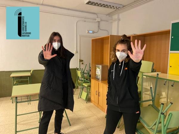 Campaña contra a violencia de xénero desde o IES Saturnino Montojo de Ferrol