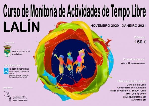 Curso de Monitores/as de actividades de tempo libre en Lalín da ETL Aloumiña