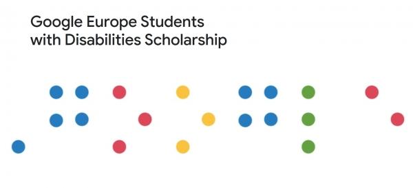 Bolsas Google Europe para estudantes con discapacidade