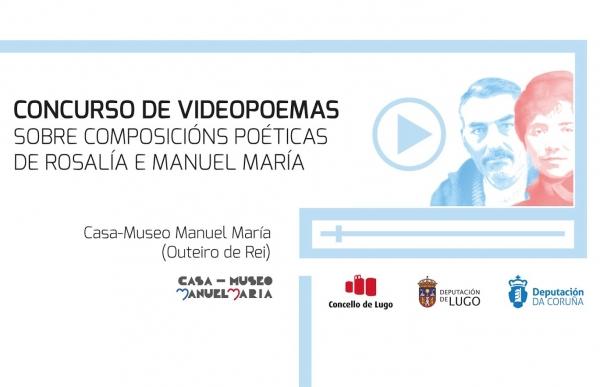 Concurso de videopoemas sobre composicións poéticas de Rosalía e Manuel María