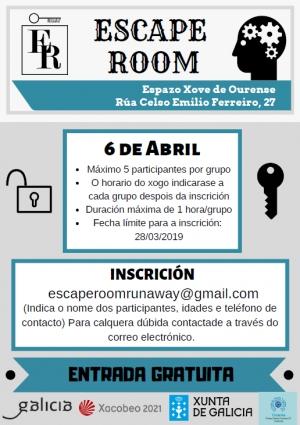 Escape Room no Espazo Xove de Ourense