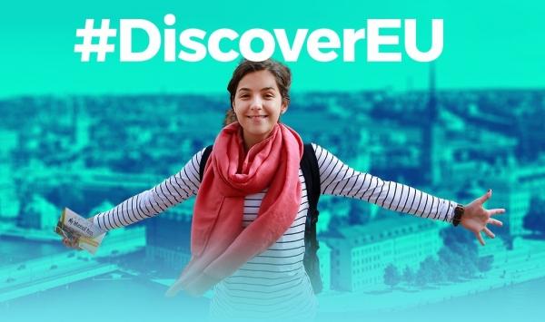 7 de novembro: #DiscoverEU