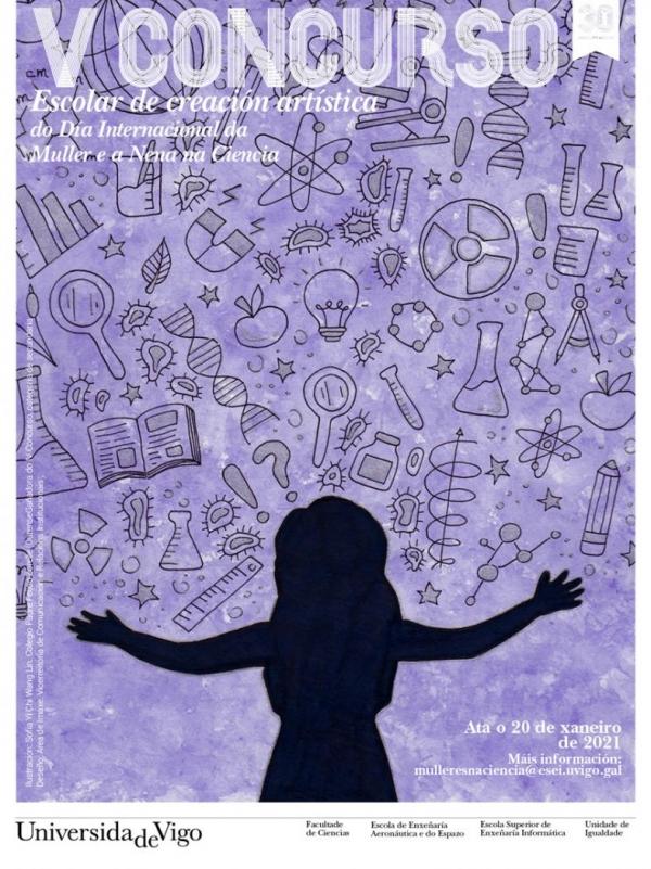 V Concurso de Creación Artística do Día Internacional da Muller e a Nena na Ciencia