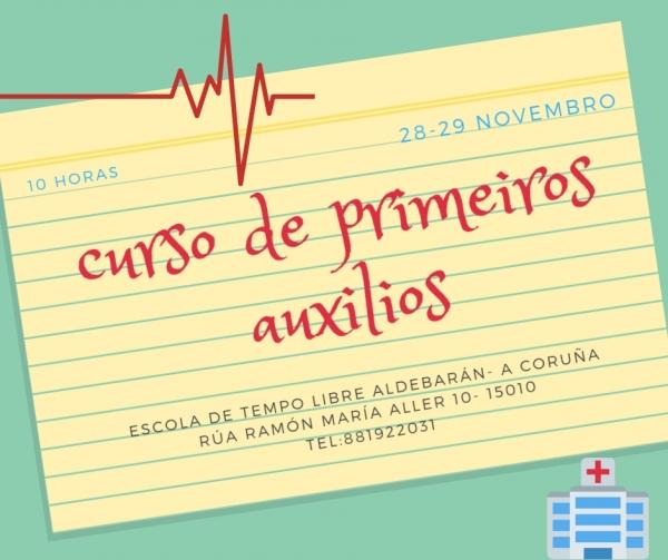 Curso de primeiros auxilios na Coruña