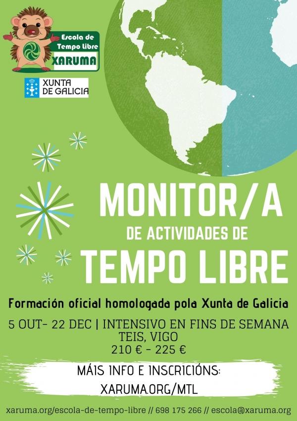 Curso de Monitoras/es de Actividades de Tempo Libre en Teis, Vigo