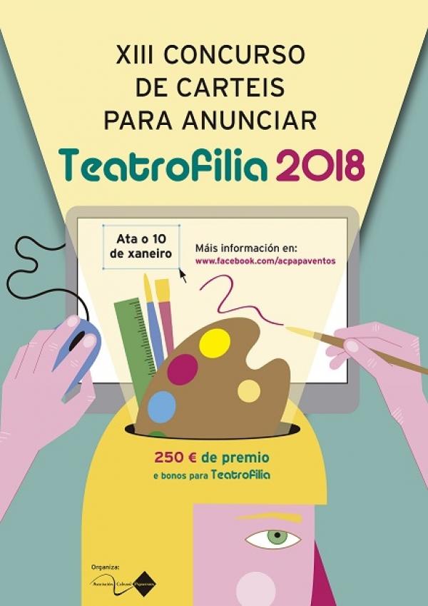 Concurso de carteis para anunciar a XV Mostra de Teatro Amador de Vedra, Teatrofilia