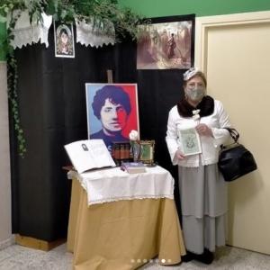 Rosalía de Castro visita o IES Eduardo Pondal