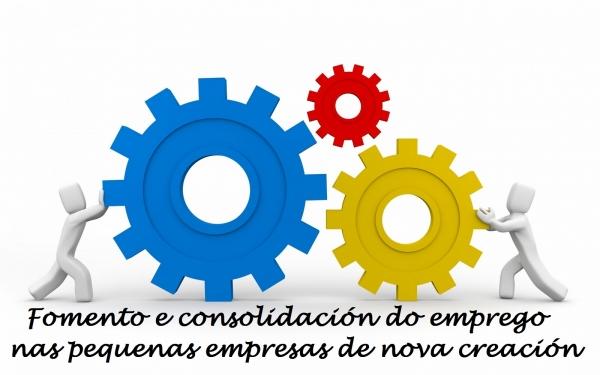 Fomento e consolidación do emprego nas pequenas empresas de nova creación