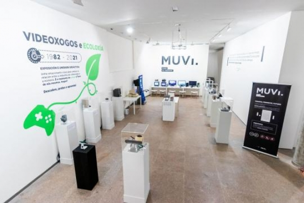 Museo do Videoxogo de Galicia (MUVI) no Salón do Libro Infantil e Xuvenil de Pontevedra