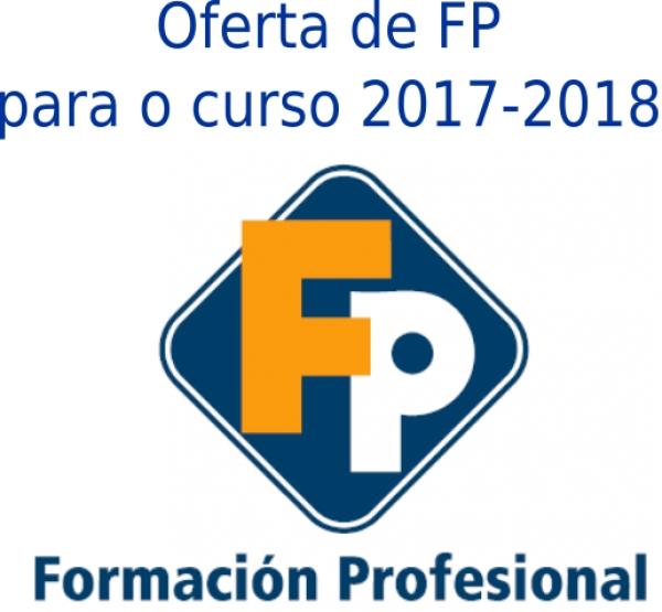 Oferta de FP para o curso 2017-2018