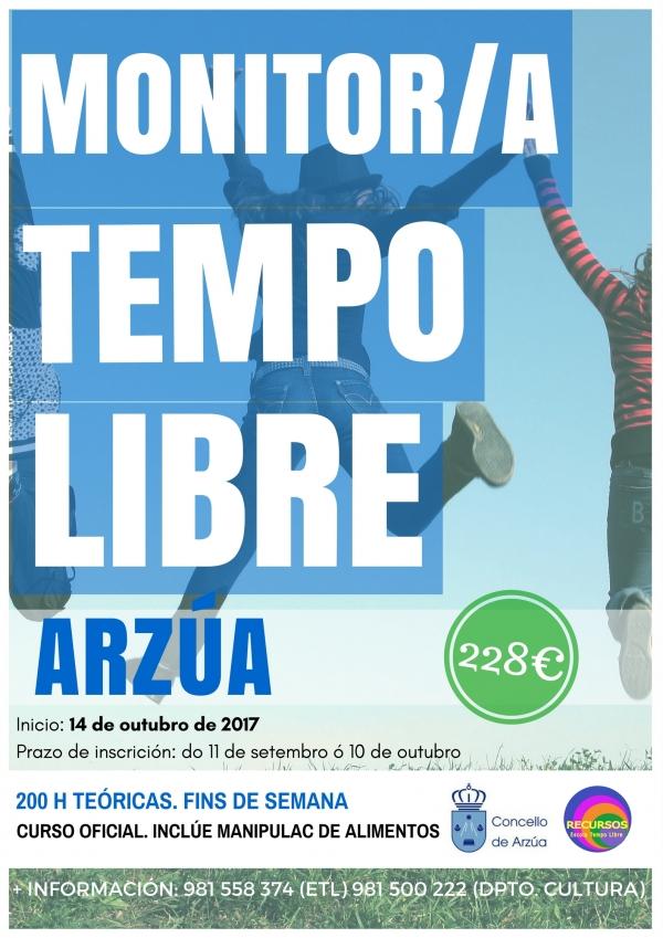 Curso de Monitoras/es de actividades de Tempo Libre en Arzúa