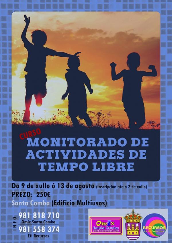 Curso de Monitoras/es de Actividades de Tempo Libre en Santa Comba