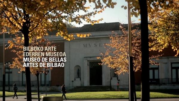 Bolsas no Museo de Belas Artes de Bilbao