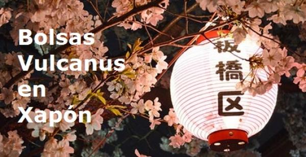 Bolsas Vulcanus en Japón
