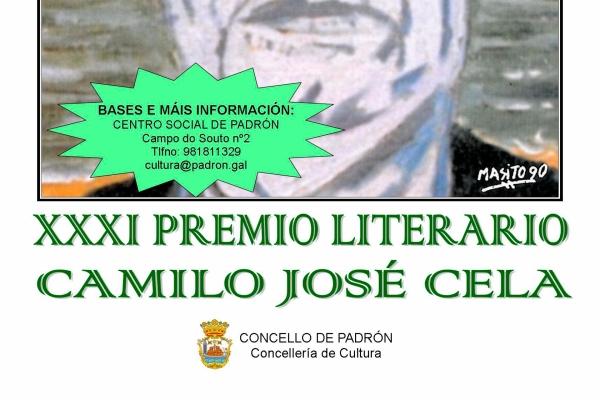XXXI Premio Literario Camilo José Cela