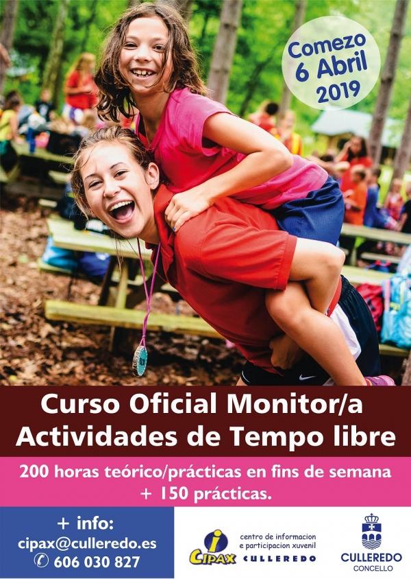 Curso de Monitor/a de actividades de tempo libre en Culleredo