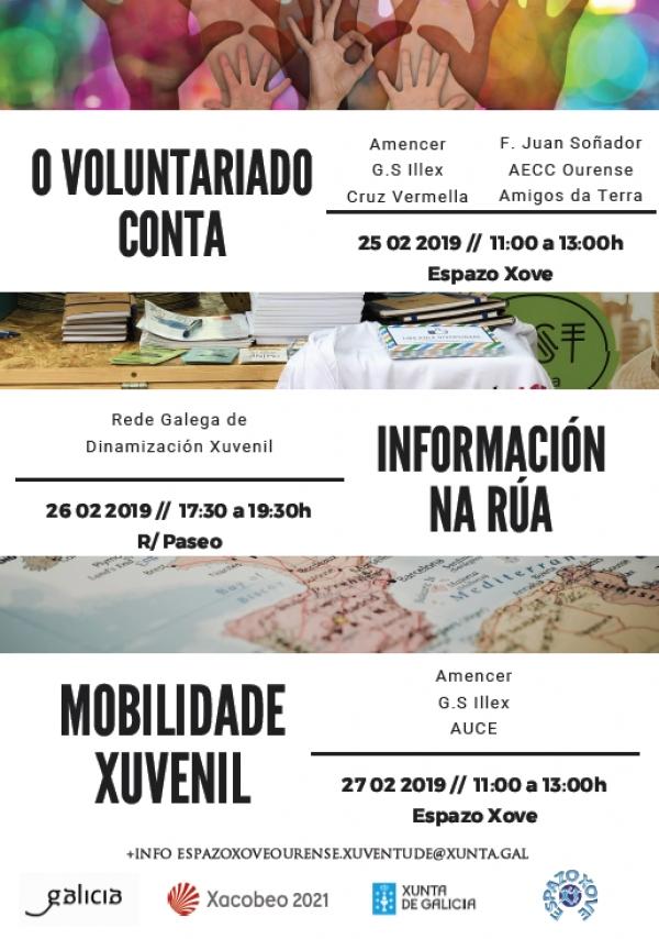 Actividades no Espazo Xove de Ourense