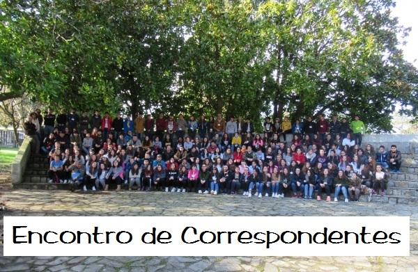 Encontro de Correspondentes Xuvenís no albergue xuvenil de Gandarío