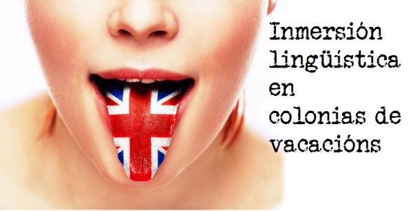 Inmersión lingüística en colonias de vacacións para o verán de 2019