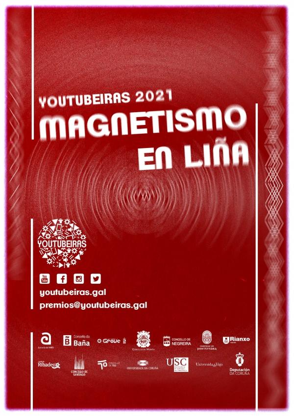 Youtubeiras 2021. Magnetismo en liña