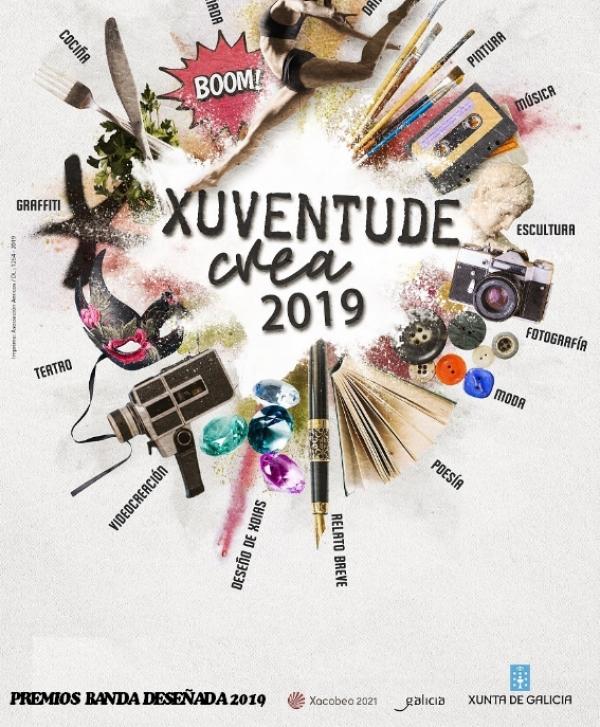 Exposición de Banda Deseñada 2019 de Xuventude Crea