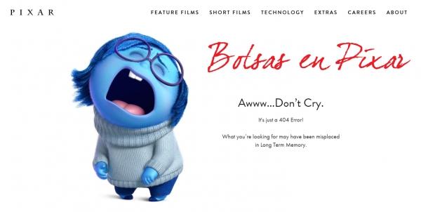 Pixar convoca prácticas para o verán 2018 en California