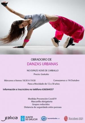 Danza urbana en Carballo