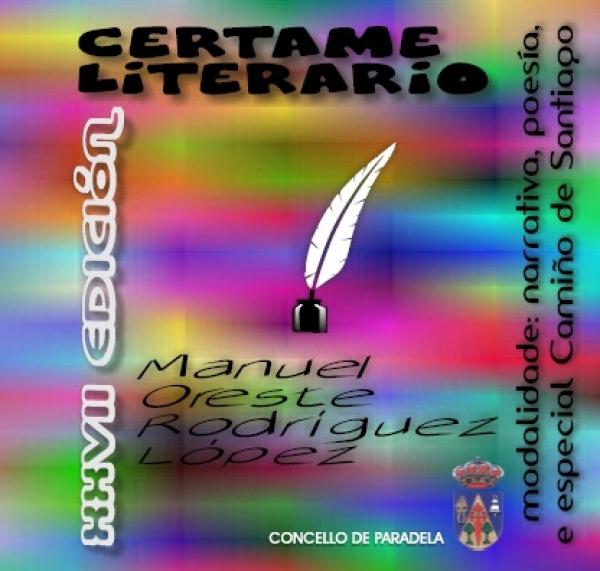 Certamen literario  Manuel-Oreste Rodríguez López