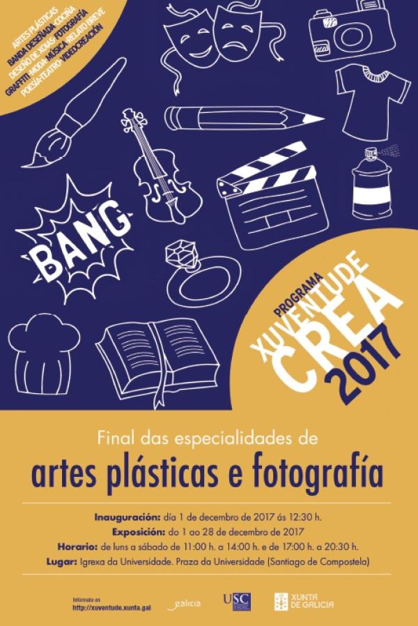 Xuventude Crea: Exposición de Artes Plástica e Fotografía
