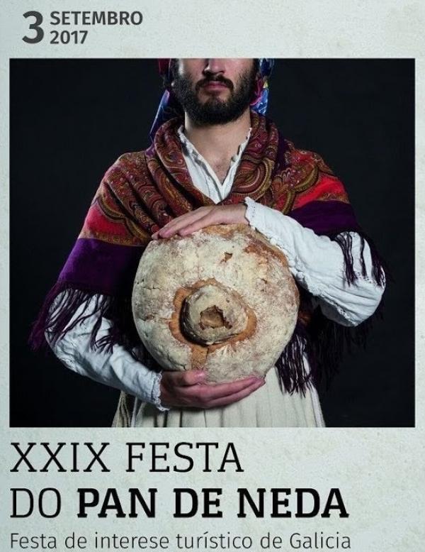 Concurso de carteis anunciadores da XXXI Festa do Pan de Neda