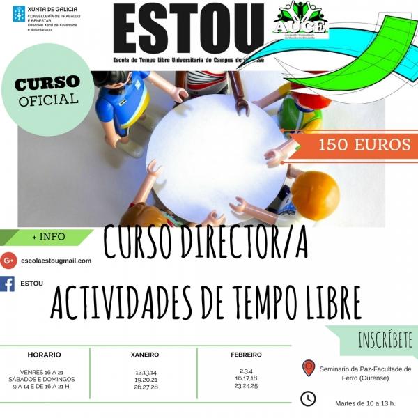 Curso de Directores/as de Tempo Libre en Ourense