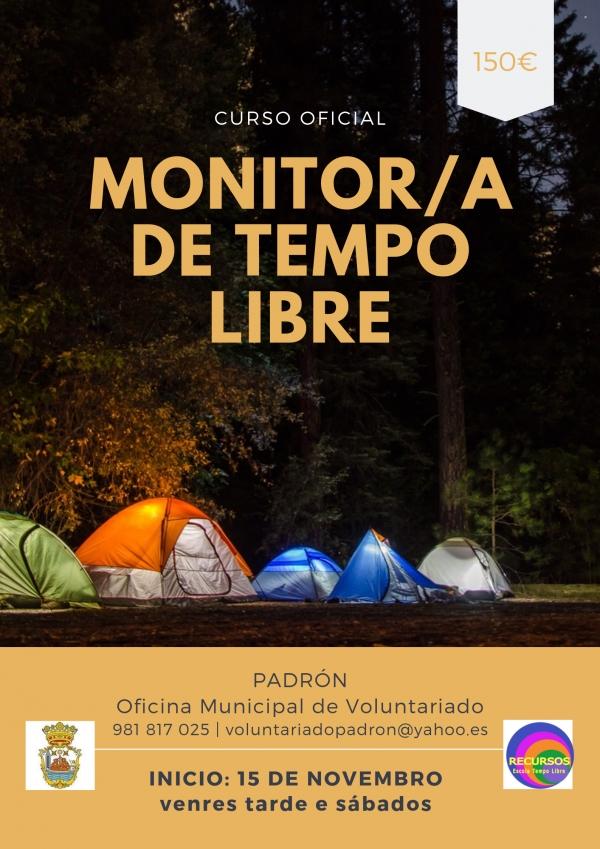Curso de monitores/as de actividades de tempo libre en Padrón da escola Recursos