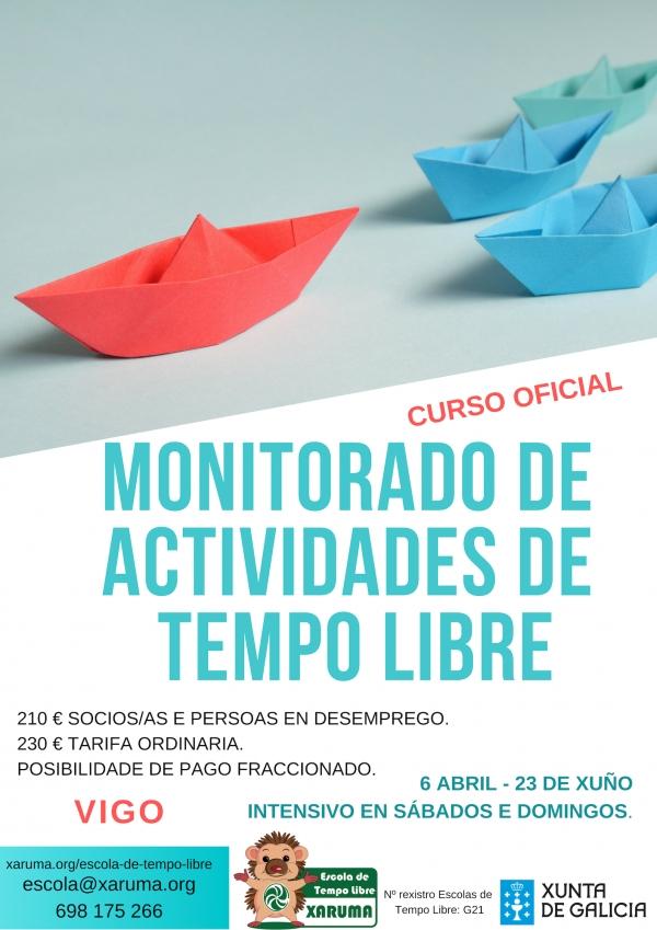 Curso de Monitor/a de Actividades de Tempo Libre en Vigo