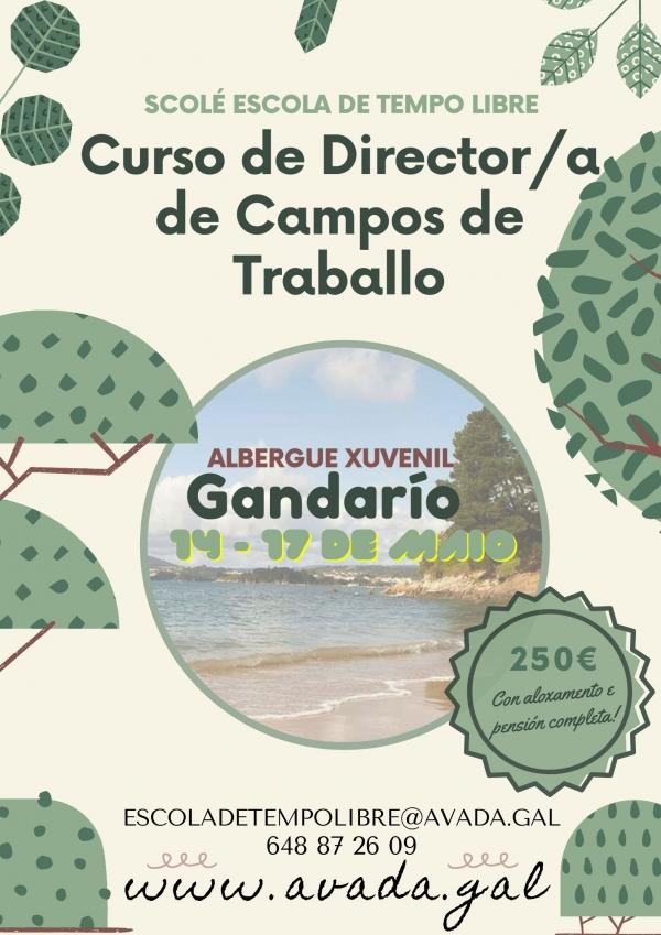 Curso de Director/a de Campos de Traballo / Voluntariado da ETL Scolé