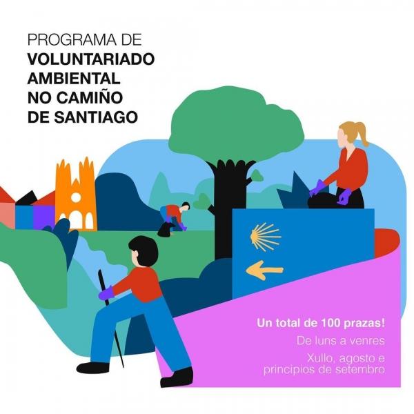 Voluntariado ambiental no Camiño