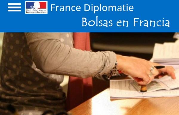 Bolsas para estudar en Francia