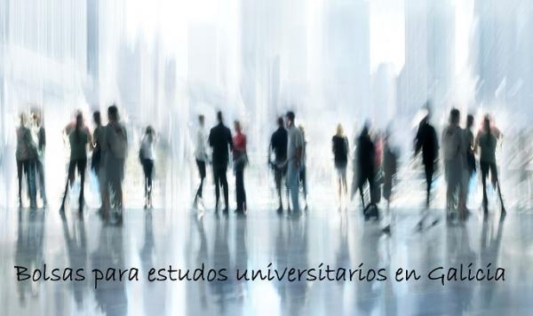 Bolsas para estudos universitarios en Galicia