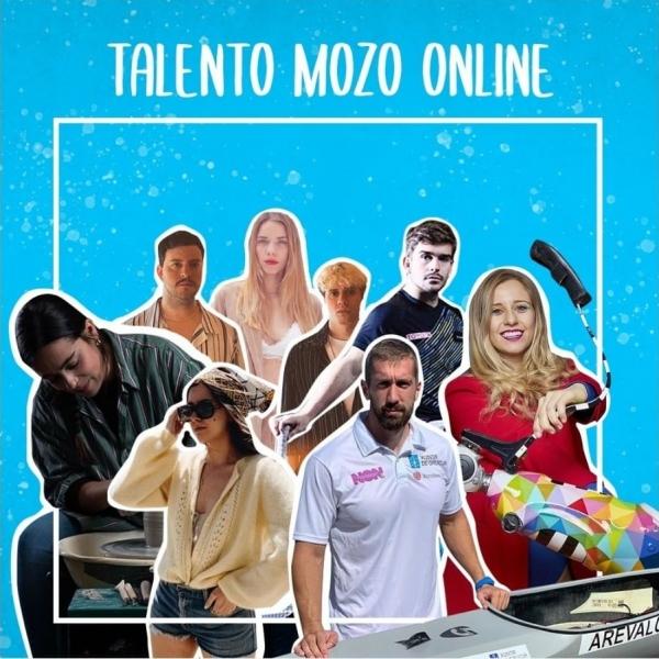 Talento Mozo Online na canle IGTV de Xuventude