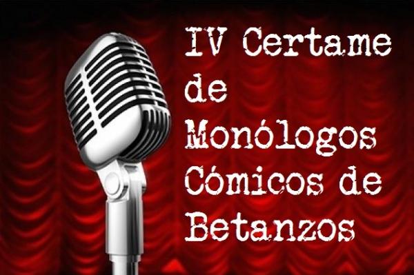 IV Certame de Monólogos Cómicos de Betanzos