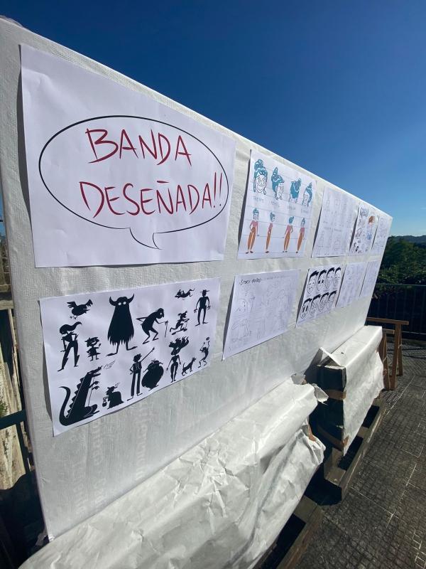 OBRADOIRO DE BANDA DESEÑADA E DESEÑO DE PERSONAXES