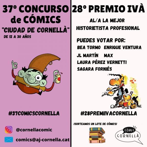 "Concurso de Cómics ""Ciudad de  Cornellà"""