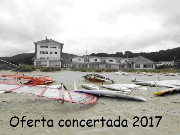 Oferta concertada de uso das instalación xuvenís na Campaña de verán 2017
