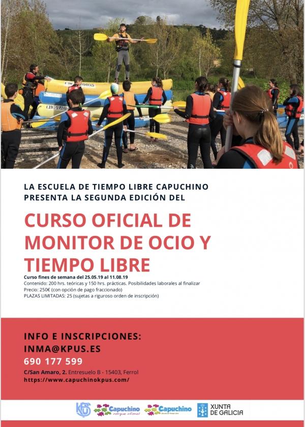 Curso de Director/a de Actividades de Tempo Libre en Ferrol