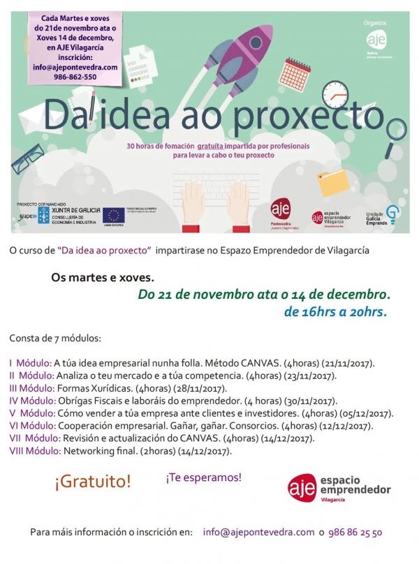Da idea ao Proxecto en Vilagarcía de Arousa